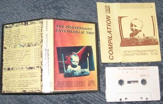 "A tidy little plastic box housed the Audiologie Compilation #4 called "" Independent Psychedelic Trip"" issued out of France."