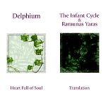 Split CD with Delphium , The Infant Cycle and Ramunas Yaras