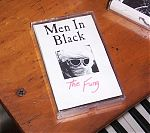 "Chris Gross project, Men In Black with the unreleased C90 cassette, ""The Fung"""