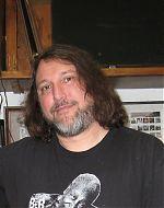 Dino DiMuro in Don Campau's studio, 2011.