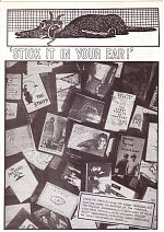 Stick It In Your Ear zine, U.K.