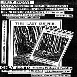 Flyer, for The Last Supper compilation