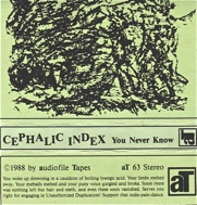 Cephalic Index  You Never Know  1988