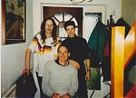 Stephen Parsons, Kevyn Dymond and Don Campau in Swindon 1991.