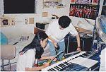 Jay T. Yamamoto and Stuart Hayashi recording as King Creature.