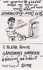 From 1998, solo tape by Jeff Olson of The Screamin' Popeyes.