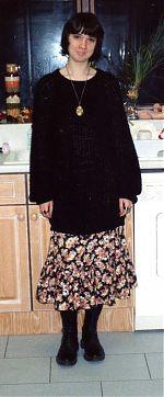 Kim Harten of the Bliss tape label, 1993.