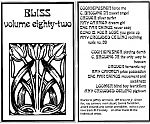 """Bliss Vol. 82"" was a compilation tape with many international artists."