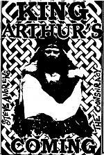 A split tape with Steve Andrews and The Conspiracy, both from the UK.