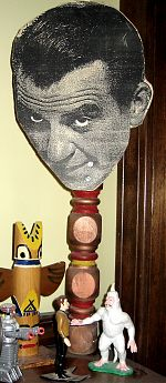 Ward's Head On A Stick artwork by Larry Mondello Band