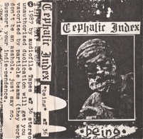 Cephalic Index  being  1987