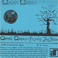 Omnia Opera  Beyond The Tenth  1989