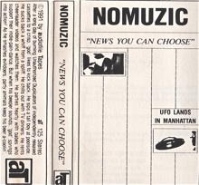 Nomuzic  News You Can Choose  1991