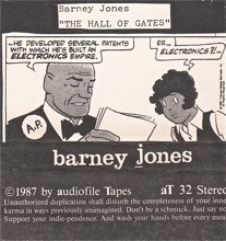Barney Jones  self titled  1987