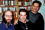 Al Margolis, Don Campau and Charles Hutchinson at Academy Records New York, 2006.