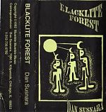 "One of his greatest achievements to me was his tape, ""Blacklite Forest"" from 1992. Classic home taper tools   ( drum machine, guitar, vocals) used to create a large, expansive and personal rock world."