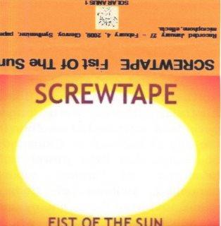 Screwtape - Fist Of The Sun