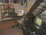 Above, some pictures of Phillip B. Klingler's home studio.