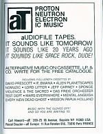 Above, A full page ad taken out by Carl Howard of audiofile  Tapes.