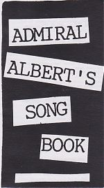 """Lyric and graphic booklet for """"Admiral Albert's Apparition"""" from 1993."""