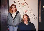 Birgit Gasser and Kevyn Dymond in Dusseldorf 1991.