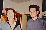 Birgit Gasser aka Dino Oon, and Detlef Funder aka Konrad Kraft. 1991.
