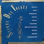 """""""Stimme Des Volkes"""", a compilation LP that featured Sons Of Care, Dino Oon, Bourbonese Qualk, Seventh Day, Mynox Layh, Deus Baleines Blanche and others. 1990."""