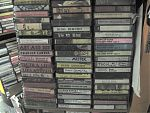 Some of my many cassettes by Eric Muhs and Dino DiMuro.