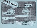 Published by Hal McGee,  Halzine was the sequel to Hal's Electronic Cottage magazine.
