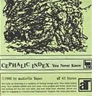 Cephalic Index  You Never Know  1988