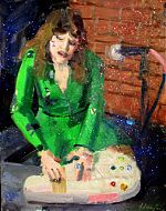 Azalia Snail painted by Alex Schaefer