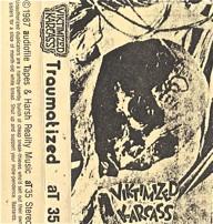 Victimized Karcass  Traumatized  1987
