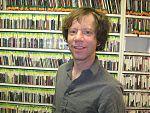 Dan West at the KKUP studios 28 July 2013