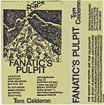 """Tom Calderon """"Fanatic's Pulpit"""""""