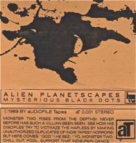 Alien Planetscapes  Mysterious Black Dots  1989