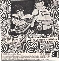 The Crimson Iguanadon  No Fit State  1989