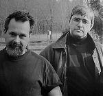 C.W. Vtracek with John Roulat, 1994 or 1995.