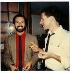 C.W. Vtracek and Nick Didkovsky at wedding of drummer John Roulat, 1984.
