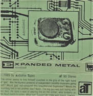 Expanded Metal  anodised  1989
