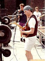 Wallmen, outside gig, year unknown.
