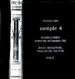 "Francisco Lopez, ""Sample 4"""