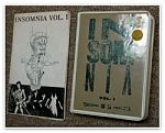 """Collection of George Charpied, """"Insomnia"""" front"""