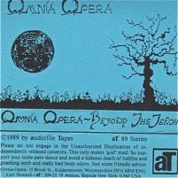 Omnia Opera  Beyond The Tenth  1989