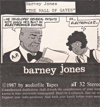 Barney Jones  self titled  1987