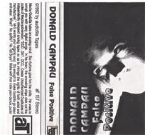 Donald Campau  False Positive  1992