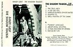 """The mysterious electronic soundscapes of Randy Greif on some early tapes. Above, """"The Shadow Traders"""" from 1988 and below, """"Lost Contact"""" from 1984, a personal favorite.  The skeleton face below is actually a cut out piece of transparency laid over the top of the cover."""