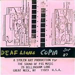 San Francisco artist, TS Vickers as Deaf Lions, produced this tape of blended loops in 1987. This was one of my favorite SOP releases at the time. I don't know what's become of Vickers now.