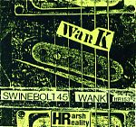 """One my personal favorites on Harsh Reality was the tape above by Swinebolt 45, the project of Roger Moneymaker from Memphis. With his guitar, drum machine and bass he slashed his way through some vicious instrumental landscapes. Moneymaker also released a tape on audiofile called """"Spank"""" which was the companion tape to this one. Part Pink Floyd, part Terje Rypdal, Roger's guitar work is like a machete hacking through the jungle."""