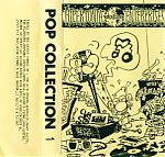 """Above, two compilation tapes on the Hypertonia label. """"Hypertonia Sampler"""" was the 34th tape released on the label and """"Pop Collection 1"""" was the 24th release."""