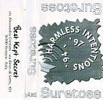 Suretoss was the first tape released on Alessandro Crestani's Italian, Best Kept Secret label and was from American artist, Chris McFarlane from Santa Cruz, CA.